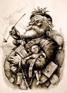 Merry Old Santa by Thomas Nast 1881